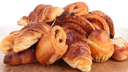 Un assortiment de viennoiseries
